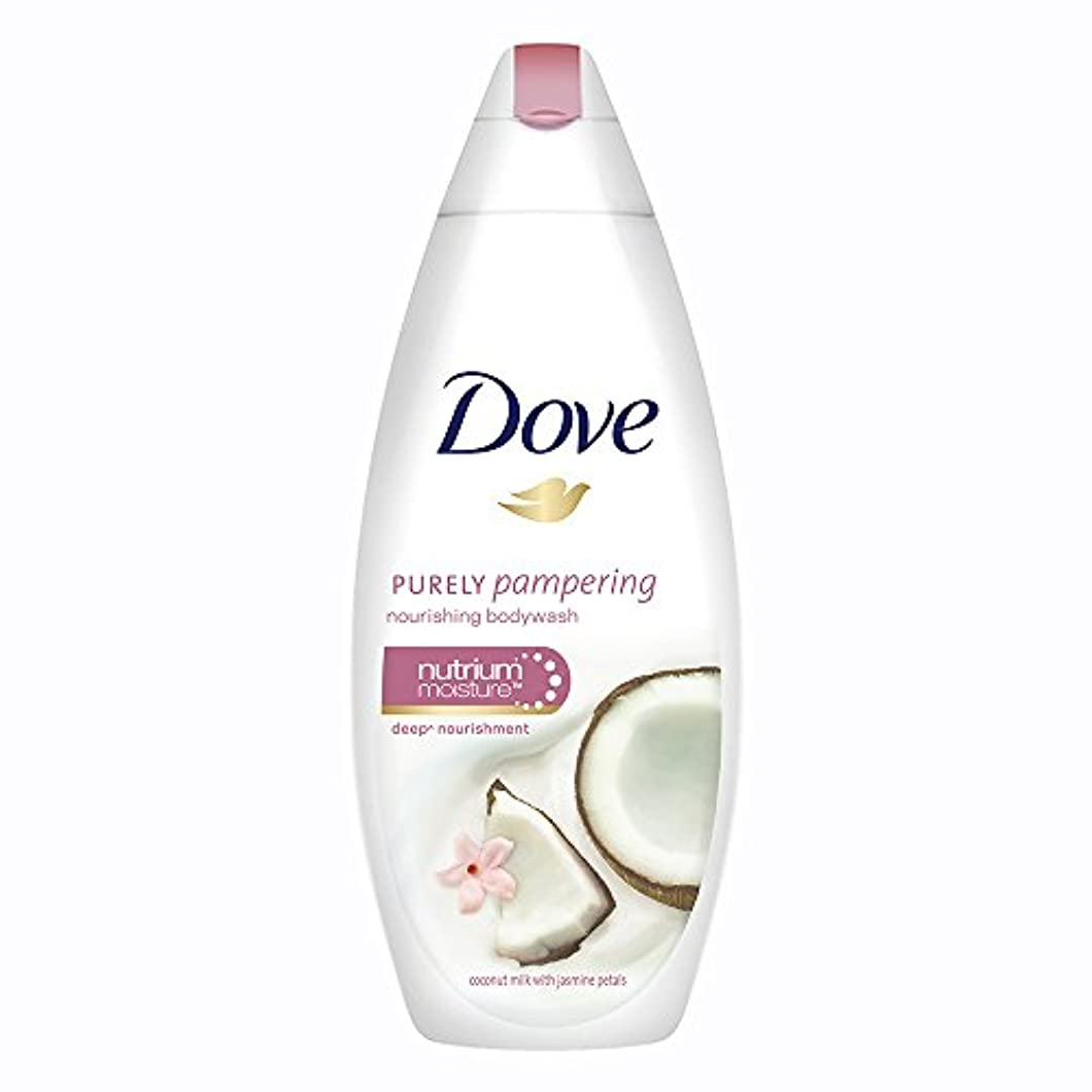 改善自分を引き上げるフォーカスDove Purely Pampering Coconut Milk and Jas Petals Body Wash, 190ml