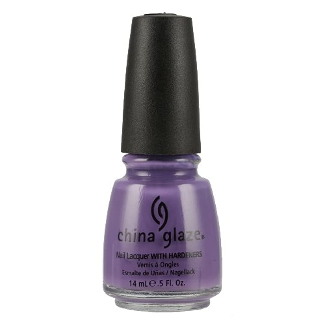 抜本的な実験看板CHINA GLAZE Nail Lacquer with Nail Hardner - Spontaneous (並行輸入品)
