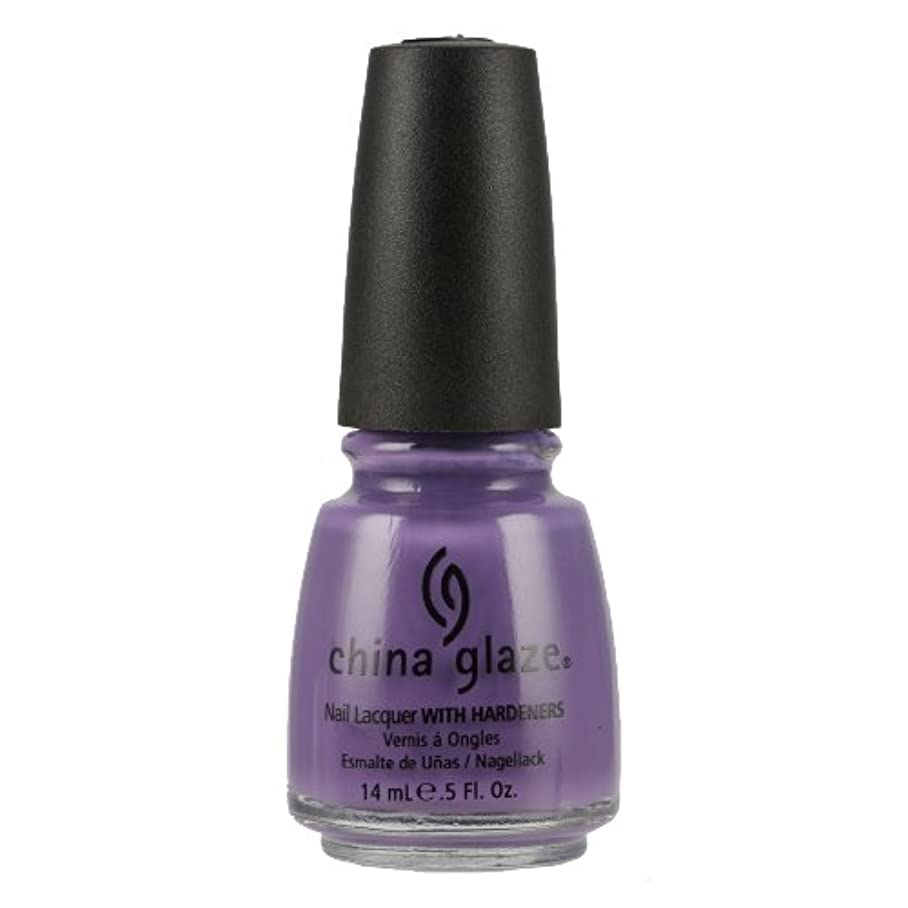 たまにこする防衛CHINA GLAZE Nail Lacquer with Nail Hardner - Spontaneous (並行輸入品)
