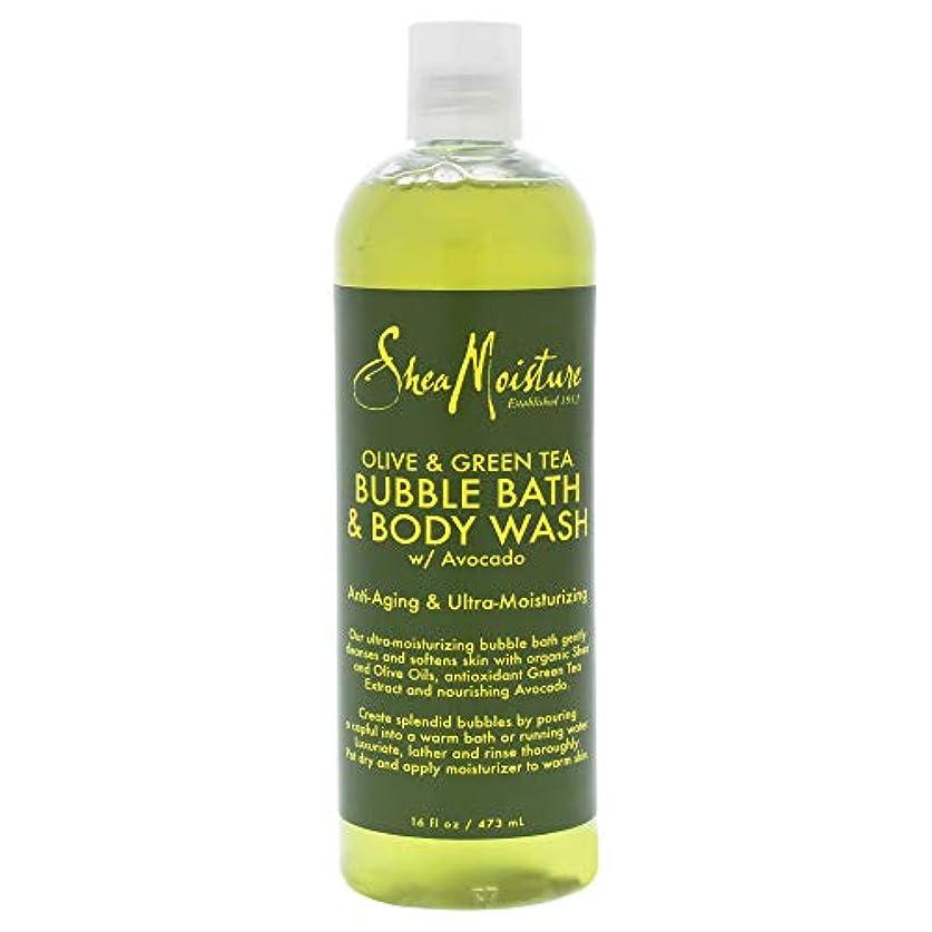 交渉するトマト大破Olive & Green Tea Bubble Bath Body Wash