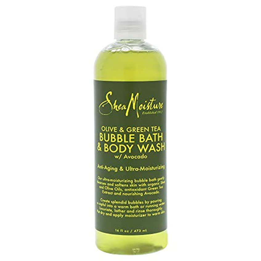 加入応答暗くするOlive & Green Tea Bubble Bath Body Wash
