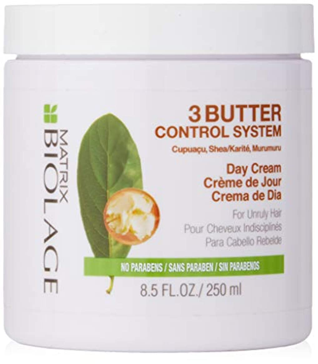 後方金貸し厚さマトリックス Biolage 3 Butter Control Stystem Day Cream (For Unruly Hair) 250ml/8.5oz並行輸入品