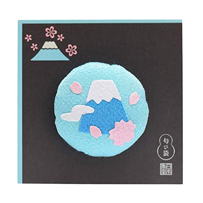 実行するアグネスグレイ襟日本香堂 香風景 匂ひ袋 富士さくら