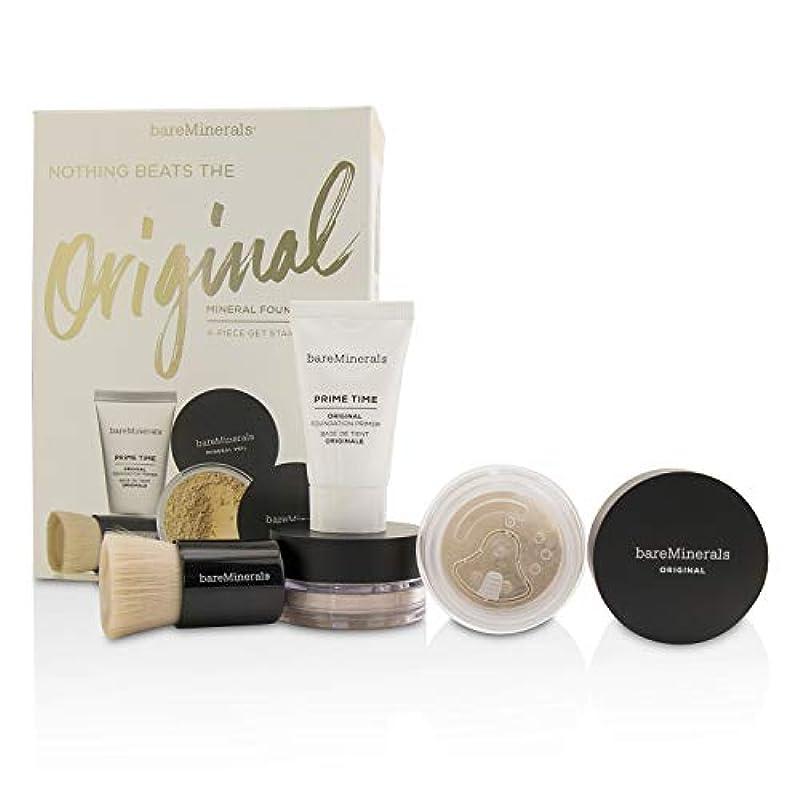 ながら主張遺棄されたベアミネラル Get Started Mineral Foundation Kit - # 07 Golden Ivory 4pcs並行輸入品