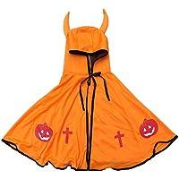 BESTOYARD ハロウイン 衣装 子供 マント フード付き 赤 コスプレ衣装 コスチューム 子ども用 魔法使い 黄色