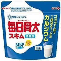 雪印メグミルク 毎日骨太スキム 【特定保健用食品 特保】 200g×12袋入