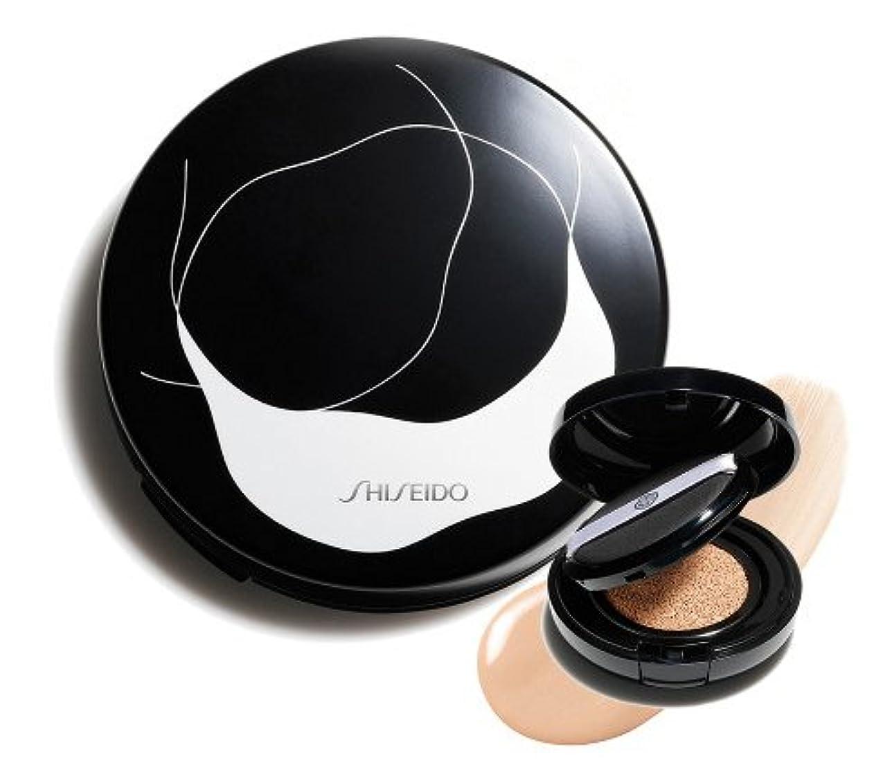 ワーム状態従来のSHISEIDO 資生堂 シンクロスキン グロー クッションコンパクト オークル20 Golden3 - レフィル&ケースのセット
