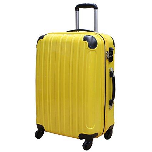 (シェルポッド) shellpod スーツケース HZ-500 中型 Mサイズ 鏡面イエロー【M/YL】