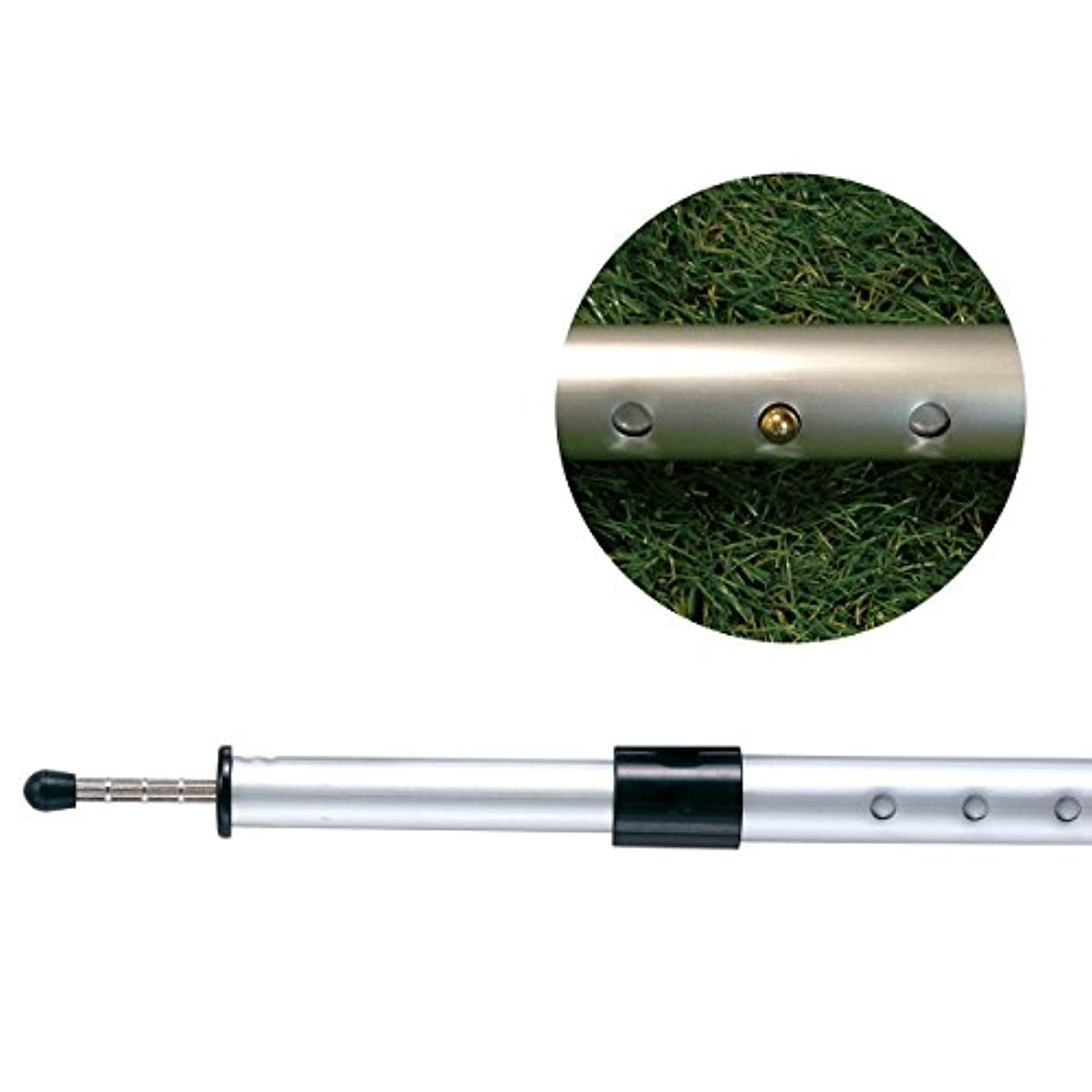 相続人便宜最小化するロゴス(LOGOS) プッシュアップポール 250cm プッシュピン 高さ調節 105cmから250cmまで34段階