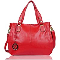 EGOGO Ladies Women's Tote Bag Leather Shoulder Bag Shopping Handbag E522-6