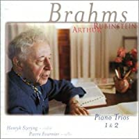 ブラームス:ピアノ三重奏曲第1番&第2番