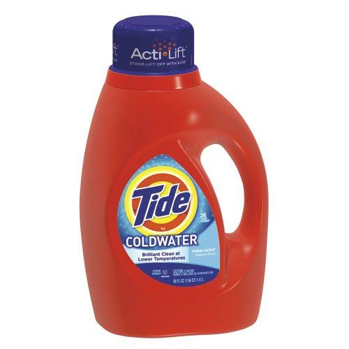 Tide Coldwater Fresh Liquid Laundry Soap Fresh Scent 46オンス