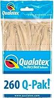 Qualatex 260Qバルーン - ブラッシュ(50 /バッグ)