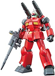 HGUC 190 Mobile Suit Gundam RX-77-2 Gun Canon, 1/144 Scale, Color-Coded Plastic Model