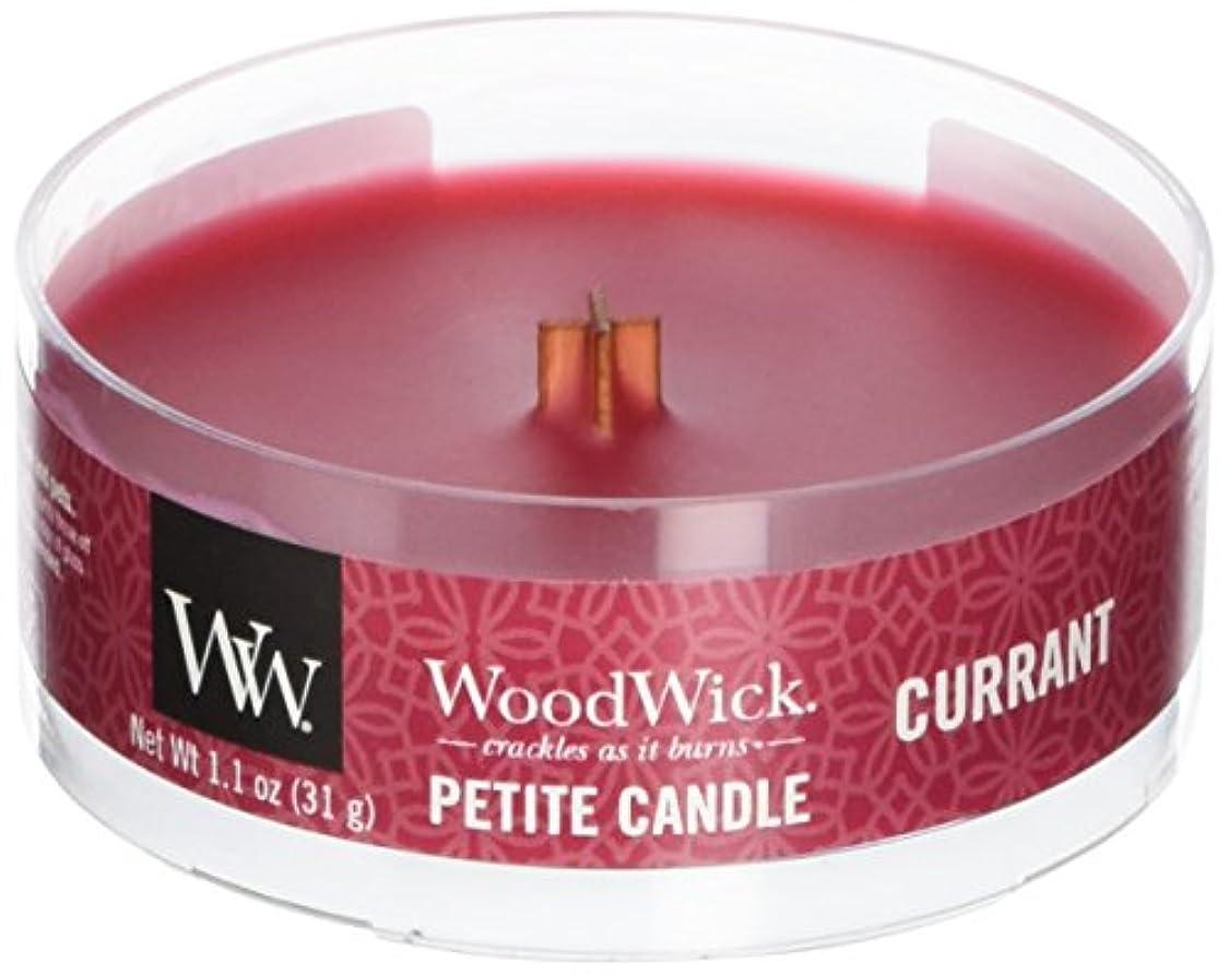 老朽化した今晩方程式Wood Wick ウッドウィック プチキャンドル カラント