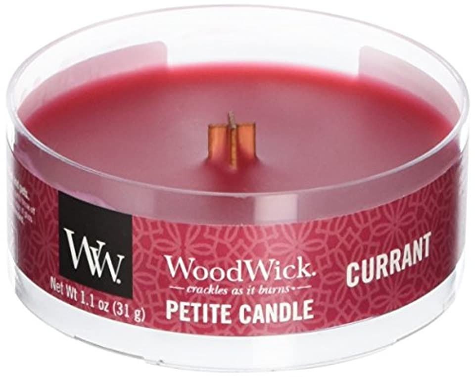 アイスクリーム技術的なプレゼンターWood Wick ウッドウィック プチキャンドル カラント