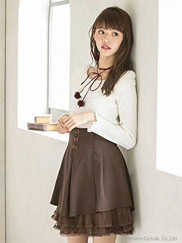 Secret Honey (シークレットハニー) トリプルリボンスカート