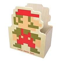 スーパーマリオブラザーズ 木製ダイカット小物入れA(マリオ)MZ05