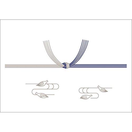 OA対応のし紙 熨斗紙 豆判5号 蓮 京 2-35 1セット 1000枚:100枚×10冊