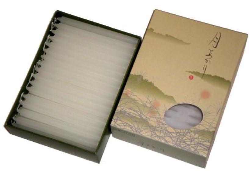 傾斜奇跡ジョグ東海製蝋のろうそく 月あかり 40分約80本