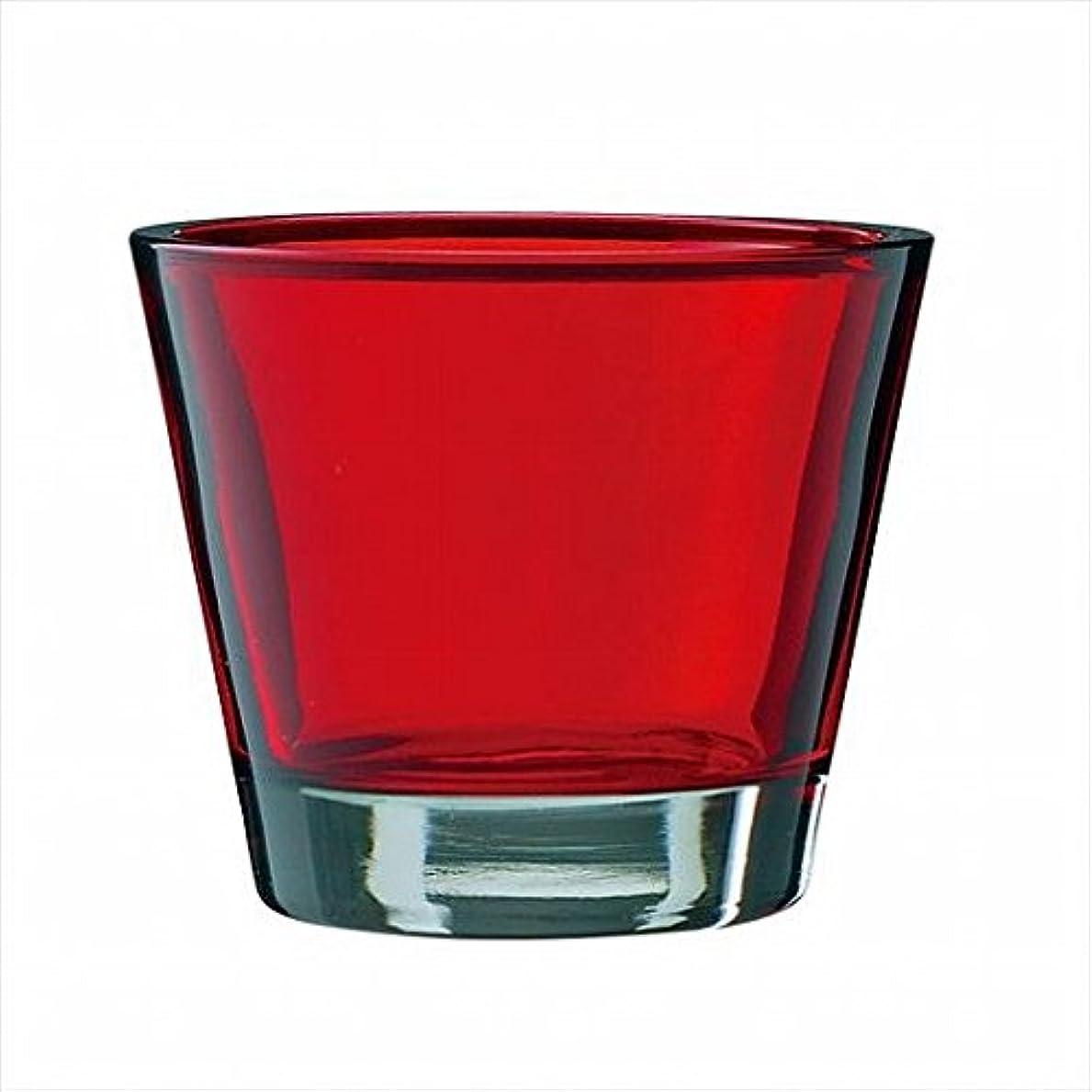 降ろす広々調整kameyama candle(カメヤマキャンドル) カラリス 「 レッド 」(J2540000R)