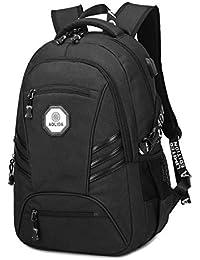 c02641fb5ef3 リュックサック 通勤 リュック 大容量 USB充電ポート ケーブル付き レディース メンズ 15.6 インチ PC対応 防水 バッグ バックパック  20L laptop backpack 通学…