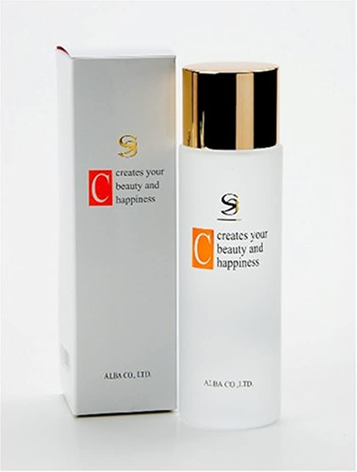 アプライアンス当社可決イオン導入器専用化粧水アルバコスメ SSビューティーC150ml