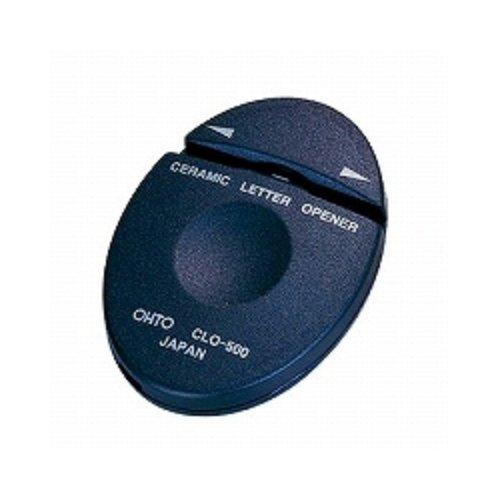 オート レターオープナー セラミックレターオープナー 黒 CLO-500クロ 【 3セット】