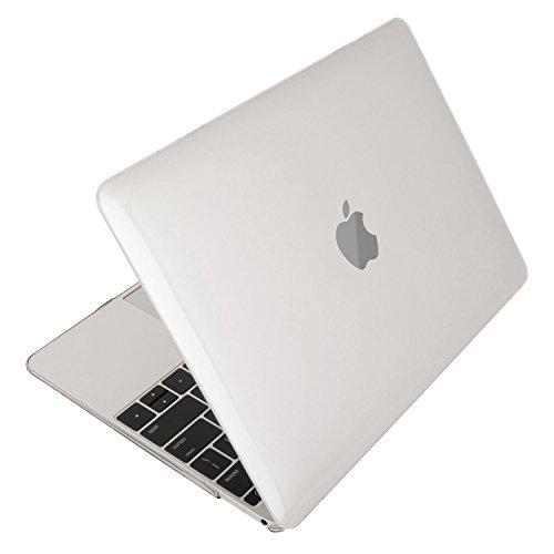 Mosiso -MacBook Retina ディスプレイ12 インチ用 ハード ケース カバー 高品質シェルカバー (対応モデル:2015/2016年[A1534]新型 光学ドライブ無し)(クリア)