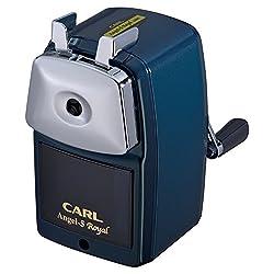 カール事務器 鉛筆削り エンゼル5 ロイヤル ブルー A5RY-B