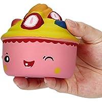Slow Rising Squeeze Kidおもちゃ、海洋9.5 CMキュートケーキSquishy Slow Rising漫画人形クリーム香りつきDecompression Toy