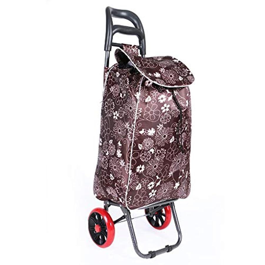 株式会社落ち込んでいる掘るJTWJ 軽い車輪付きのショッピングカート、ハードローラープッシュカート、折りたたみ可能な大容量のショッピングカート