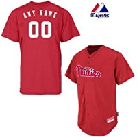 Philadelphia Phillies full-buttonカスタムまたは空白Back Major League Baseball cool-baseレプリカMLBジャージ