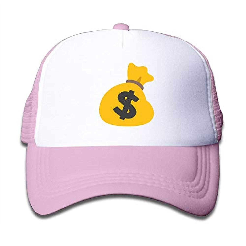 お金 描く 素敵 かわいい おもしろい ファッション 派手 メッシュキャップ 子ども ハット 耐久性 帽子 通学 スポーツ