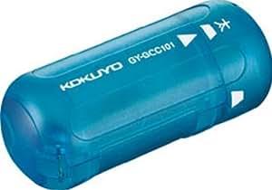 コクヨ 鉛筆削り芯調整タイプ まなびすと 円筒形 5段階調整可 ブルー GY-GCC101B