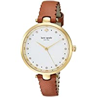 KATE SPADE Women's KSW1359 Year-Round Analog-Digital Quartz Brown Band Watch