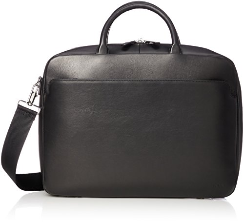 [ナヴァ・デザイン] Milano Briefcase medium MI084 Black