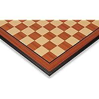 マホガニー&メープルチェスボードwith Moldedエッジ – 2.375