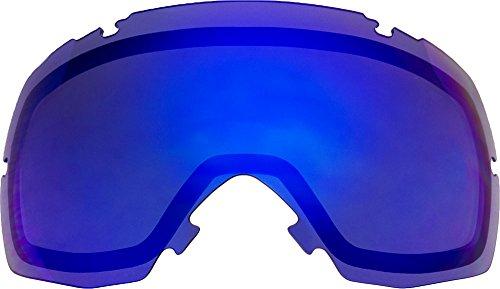 スミス ゴーグル 用 交換レンズ I/OX:アイオーエックス BLUE MIRROR