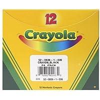 Crayola Bulkクレヨン12 ct Black – -ケースof 15