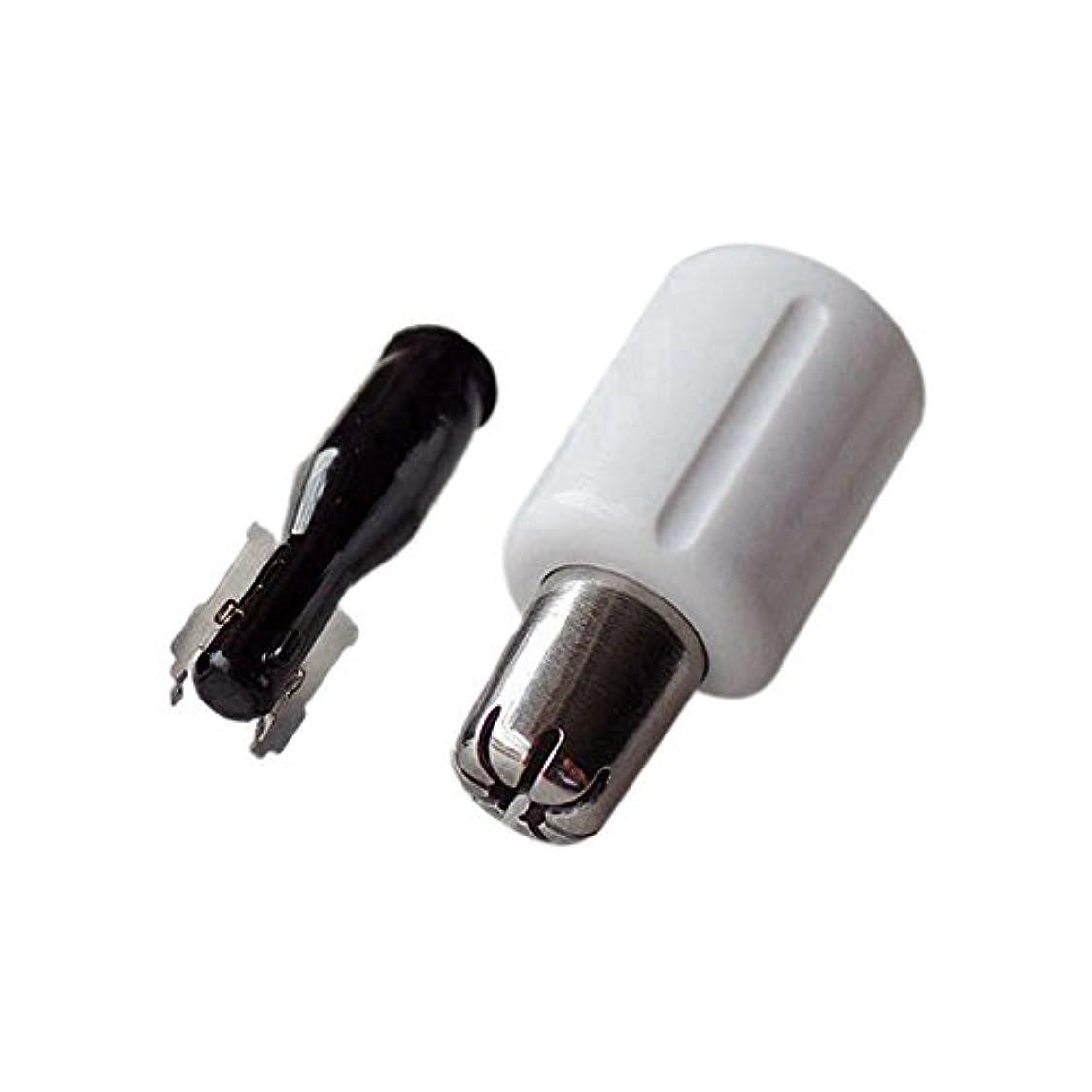 ひもラオス人ディスコJanjunsi 鼻毛カッター部品 交換用 パーツ 内刃 外刃 替刃 耐用 for Panasonic 鼻毛カッター ER-GN20 ER-GN25
