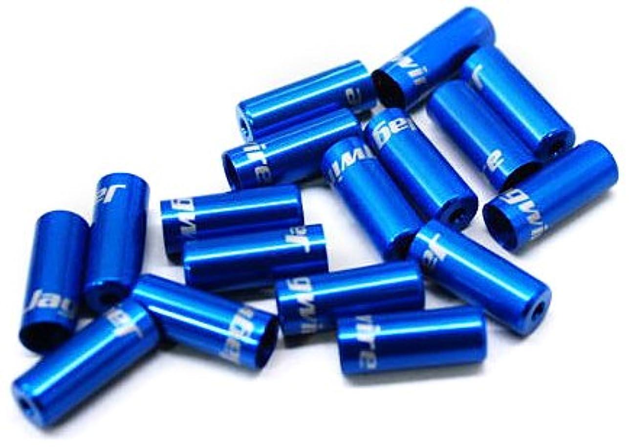 事業内容異邦人祝福Jagwire(ジャグワイヤー) Sealed End Caps 4.0mm ブルー BOT057UJ