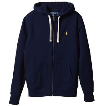 (ポロ・ラルフローレン)Polo Ralph Lauren 並行輸入 Sweat Shirt Full Zip Hooded Fleece 0455437 Cruise Navy L パーカー
