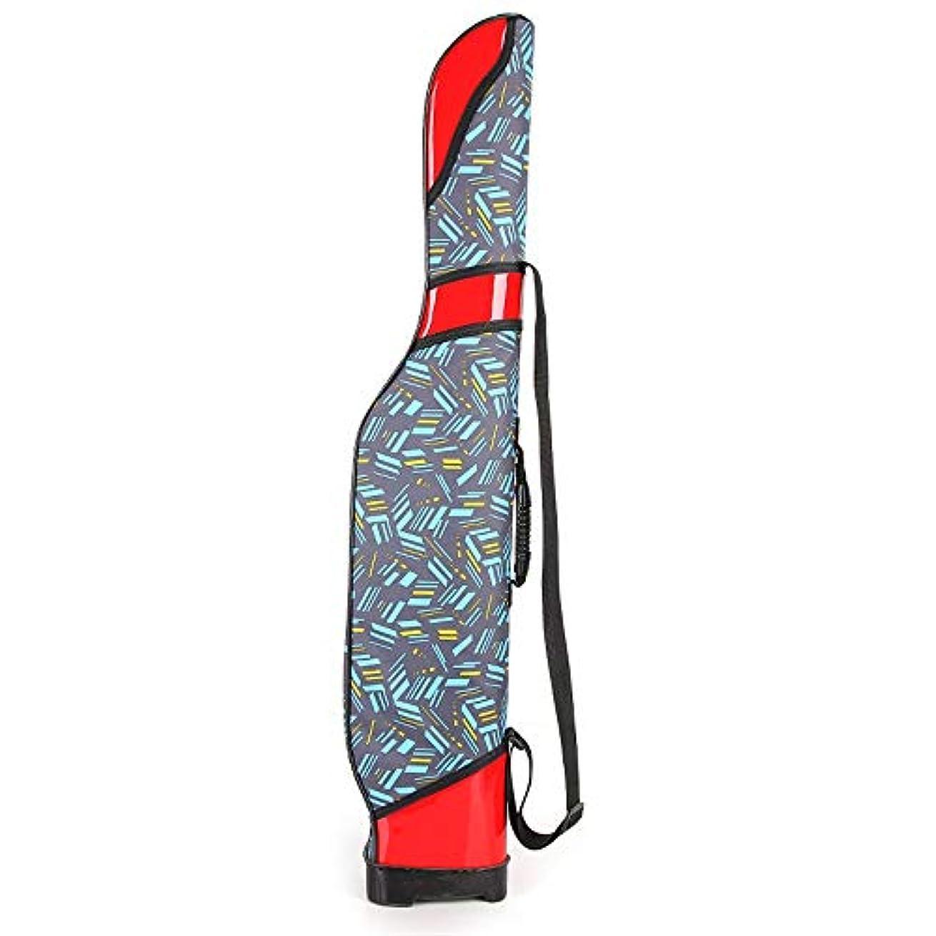 誤解を招く電気的はがき釣りバッグ 折りたたみ釣り竿ケース釣り道具収納袋ポータブル釣り竿キャリア90センチ 多機能 (Color : Blue, Size : 90cm)