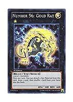 遊戯王 英語版 ZTIN-EN013 Number 56: Gold Rat No.56 ゴールドラット (スーパーレア) 1st Edition