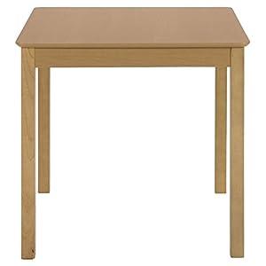 ダイニングテーブル 天然木 幅75×75 ナチュラル 93003