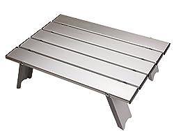 キャプテンスタッグ アルミ ロールテーブル ケース付 M-3713 アウトドア用 折りたたみ式