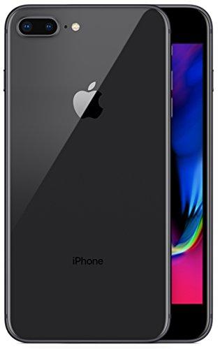 Apple 2017 iPhone 8 Plus SIMフリー 5.5インチ AR対応 【米国版SIMフリー】 (256GB, スペースグレー) [並行輸入品]