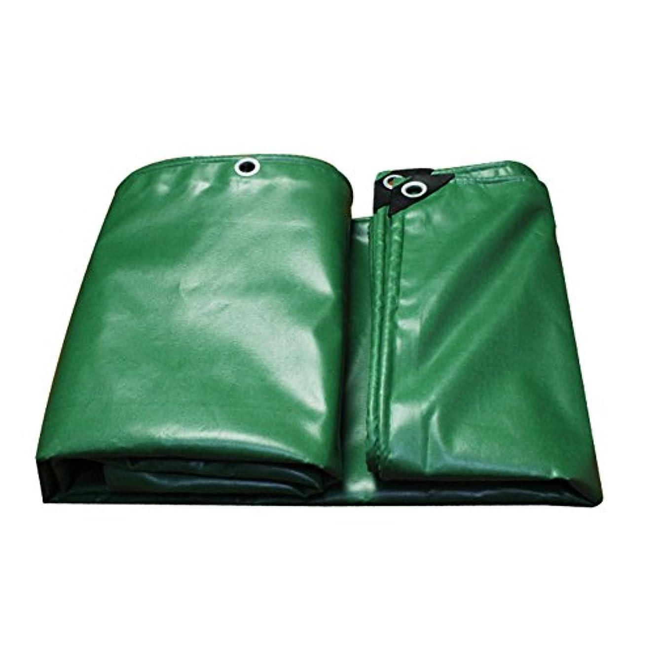 インゲンクラッシュラウンジYJLGRYF 金属ボタンホール-0.44mm-520g / m2-グリーン冬の寒さ、夏の日陰で厚くなったPVC防雨防水シート (サイズ さいず : 4x5m)