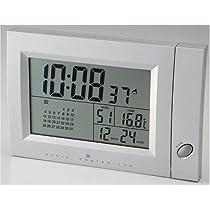 I.D.E.Ainternational カレンダー電波時計 FCR005-SY \3500